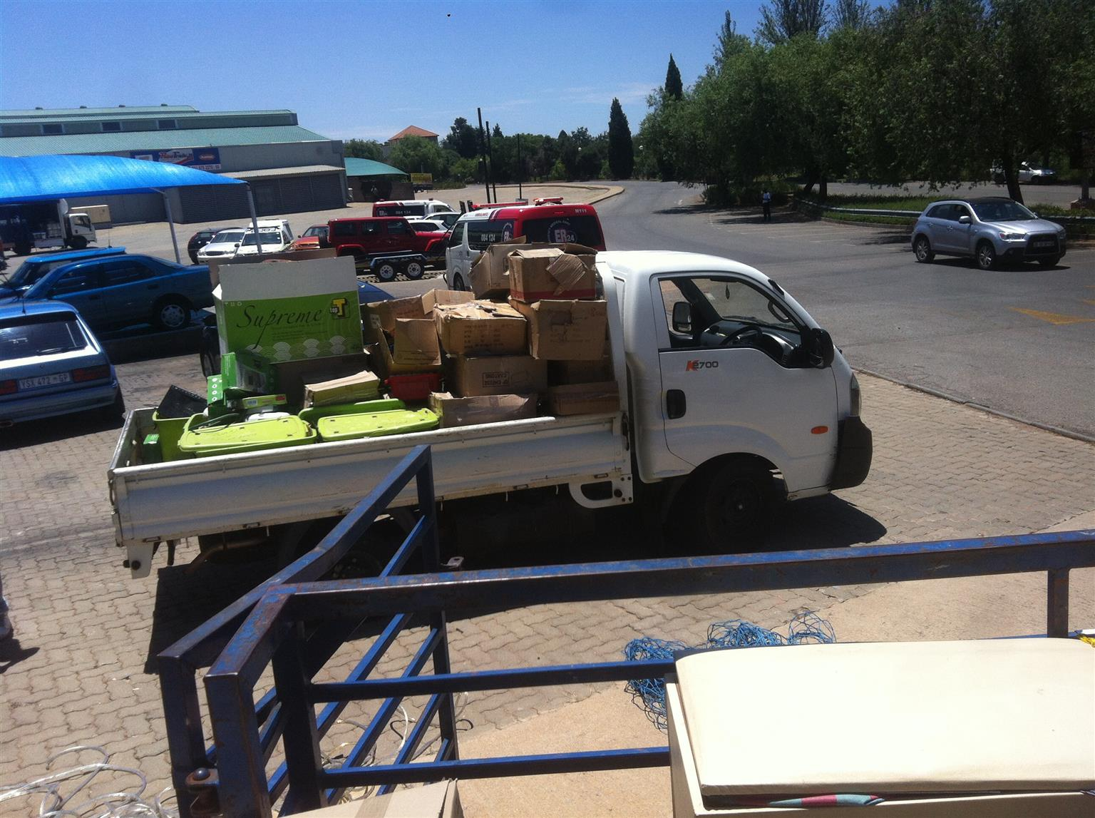 BAKKIE available for HIRE