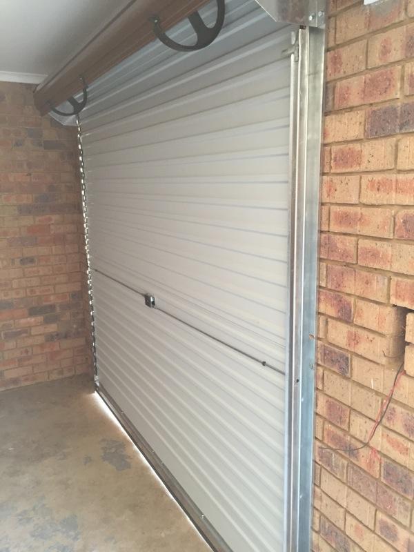 Steel Garage Roller Doors in Alberton