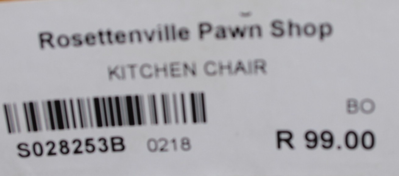 Kitchen chair S028253b #Rosettenvillepawnshop
