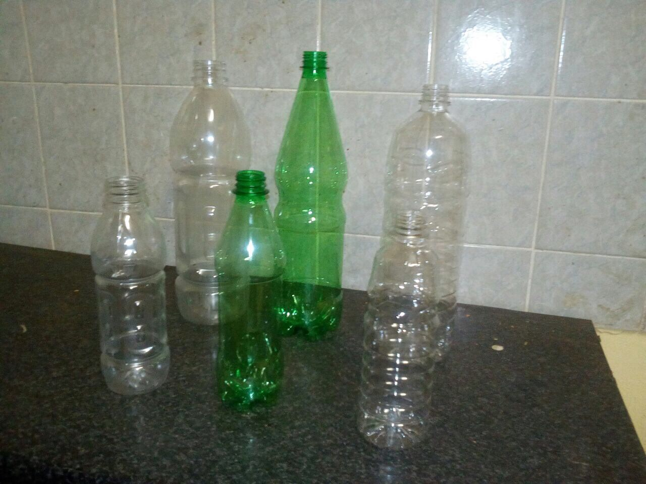 Virgin PET plastic bottles and Tetrapak for sale