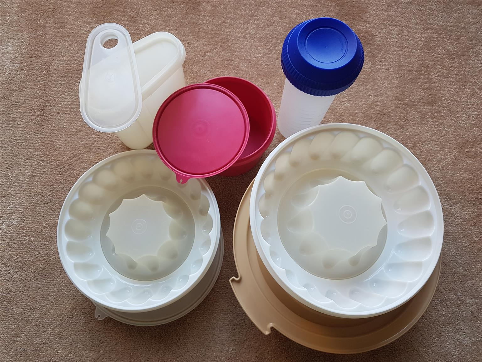 Six Tupperware Products