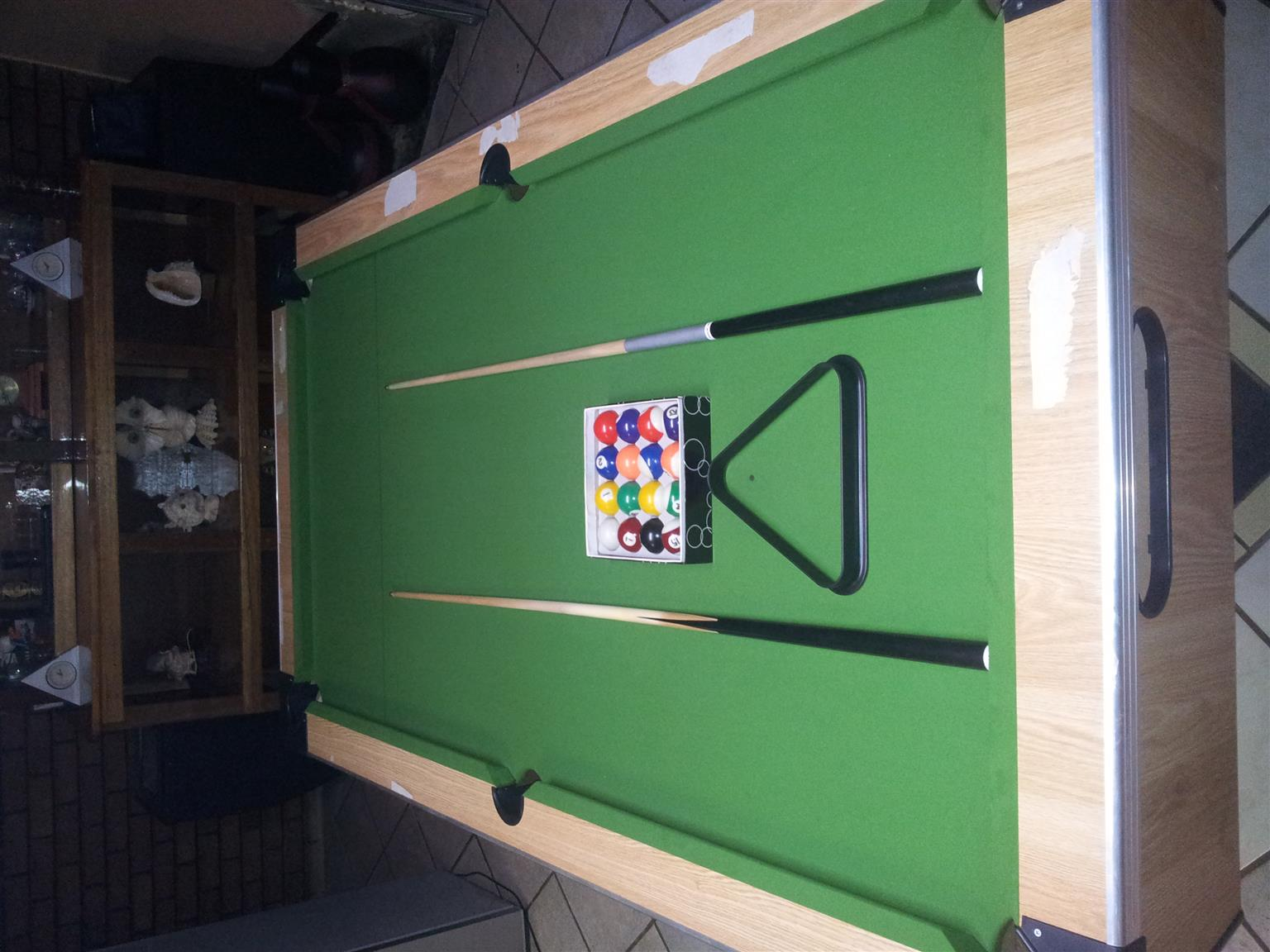 Vegas Style pool table for sale