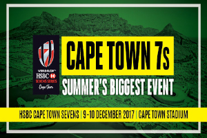 HSBC Cape Town Sevens Rugby 7s Saturday and Sunday x10