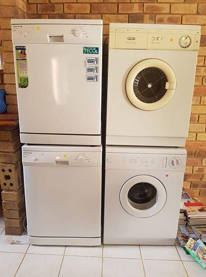 2 x dishwashers & 2 x tumble dryers