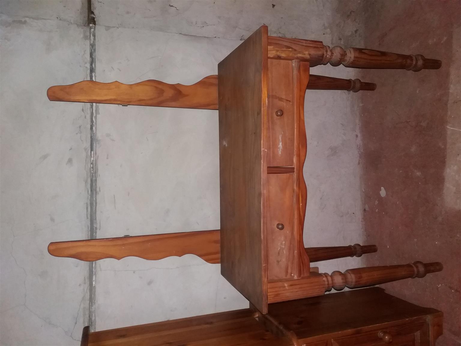 Oregon Pine furniture in good condition