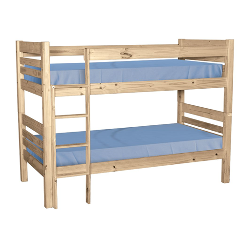 NEW Boston Bunk Beds - Raw Pine