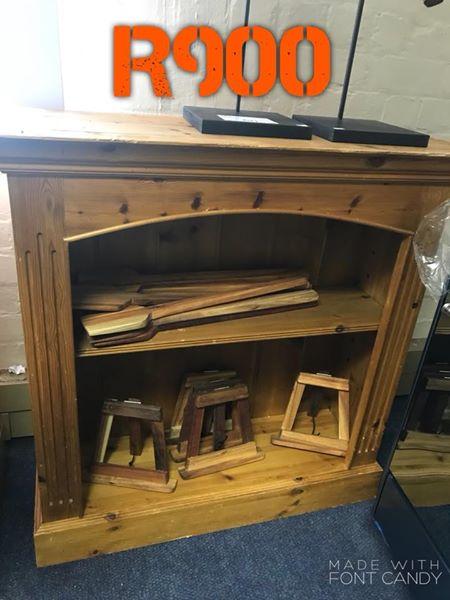 Oregon Pine Book Shelf