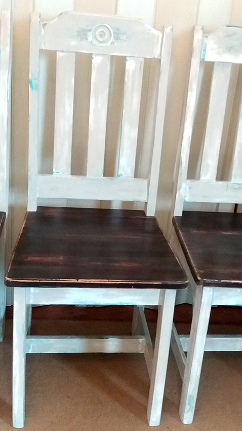 Dining chairs - french farm style