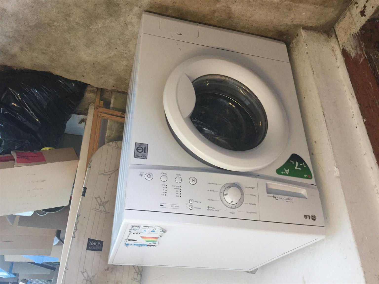 Lg automatic front loader washing machine