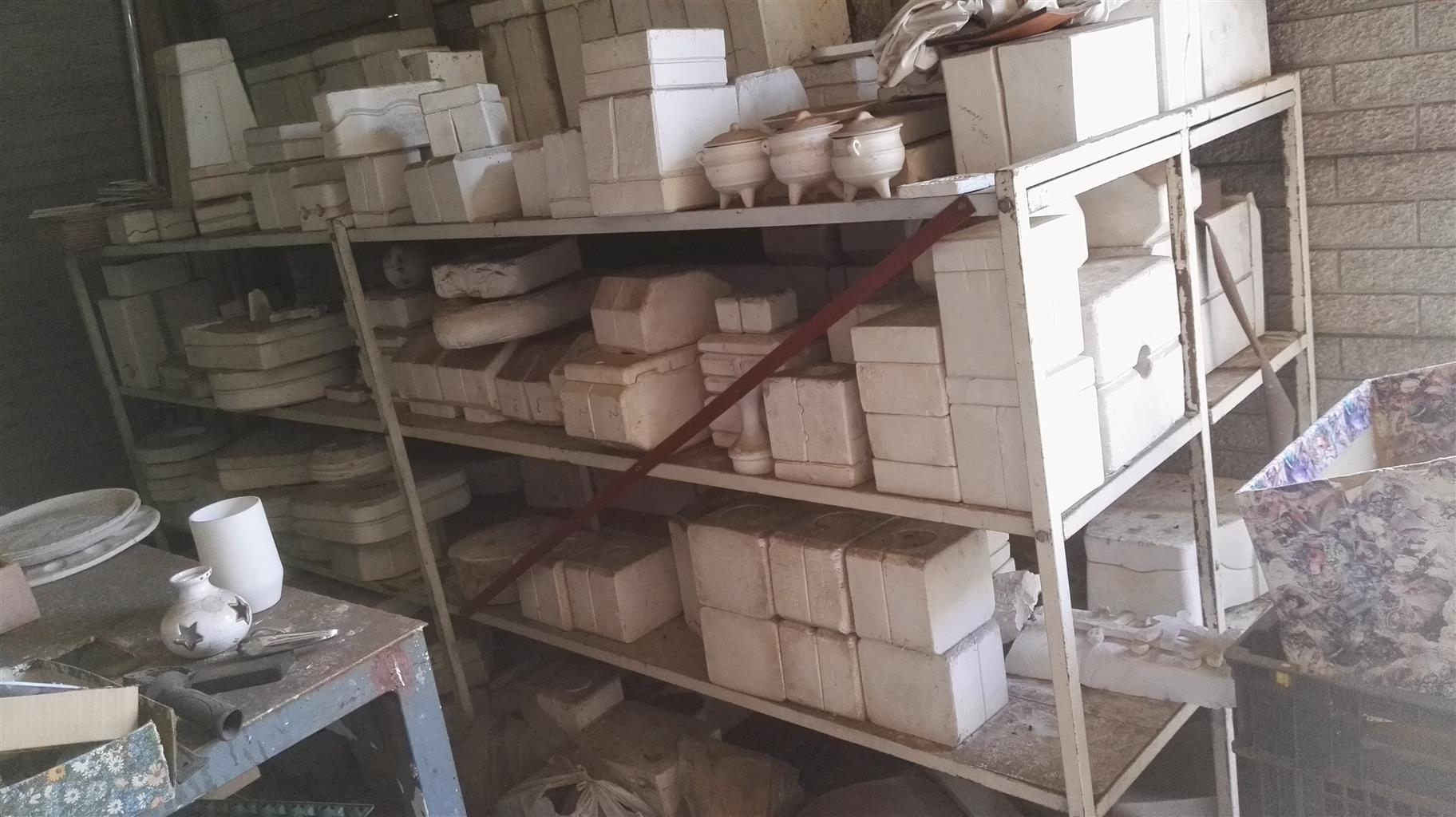 Pottery business equipment