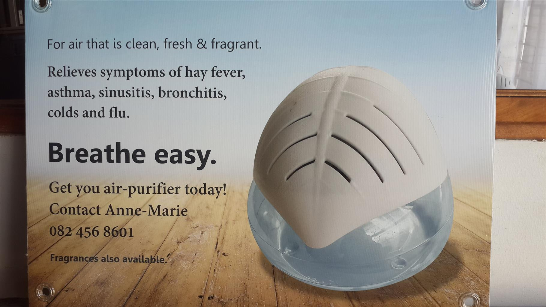 Water Air-Purifier & Fragrances