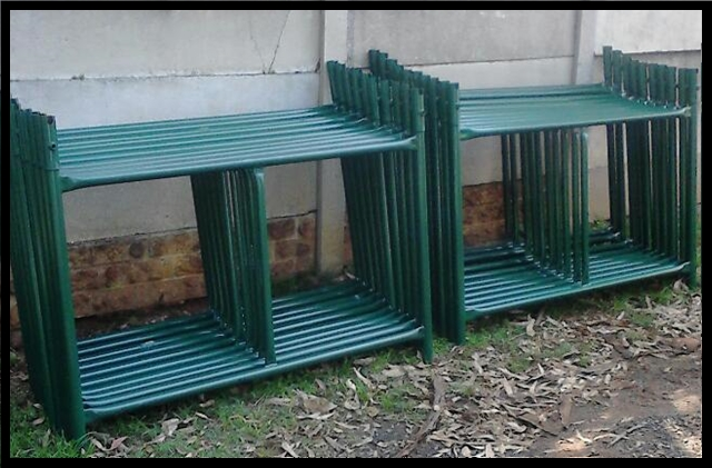 Building Scaffolding 24pc H frames for only R7680