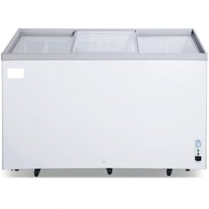 1.5M GLASS  TOP ISLAND FREEZER NEW STOCK FOR SALE