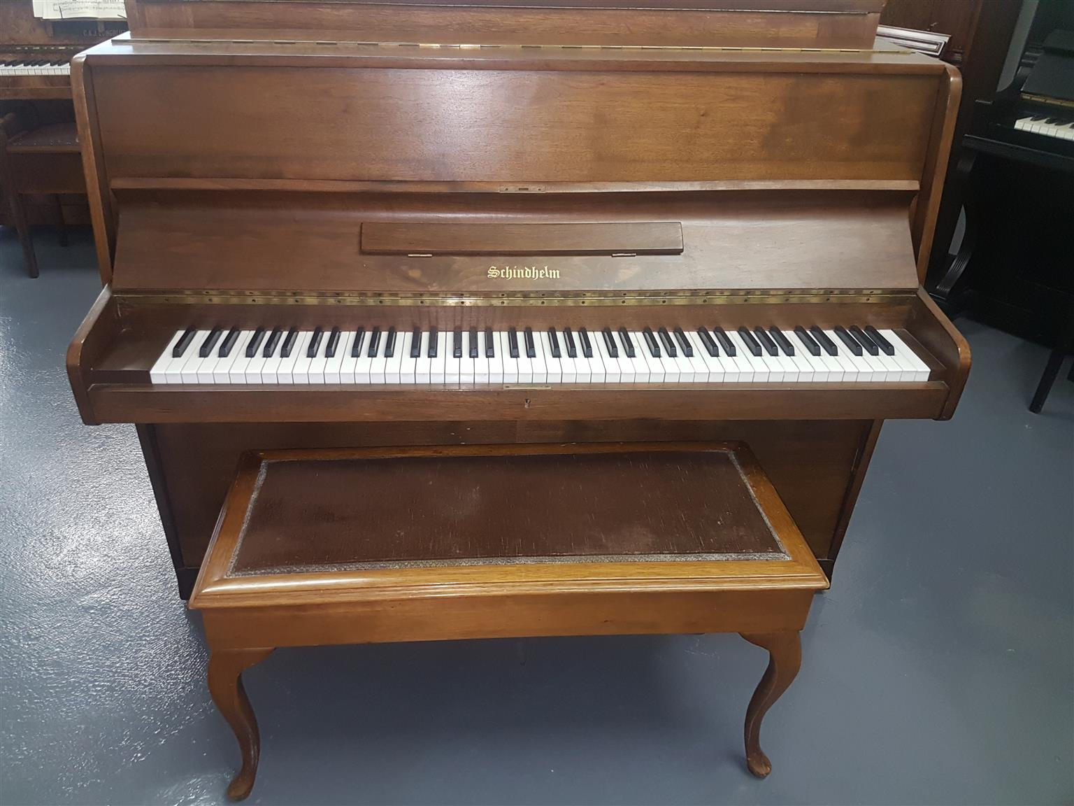 Schindhelm Upright Piano 1970s