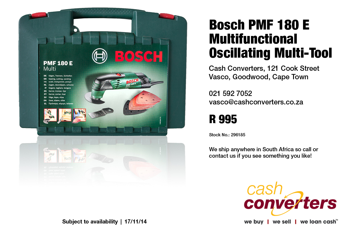 Bosch PMF 180 E Multifunctional Oscillating Multi-Tool