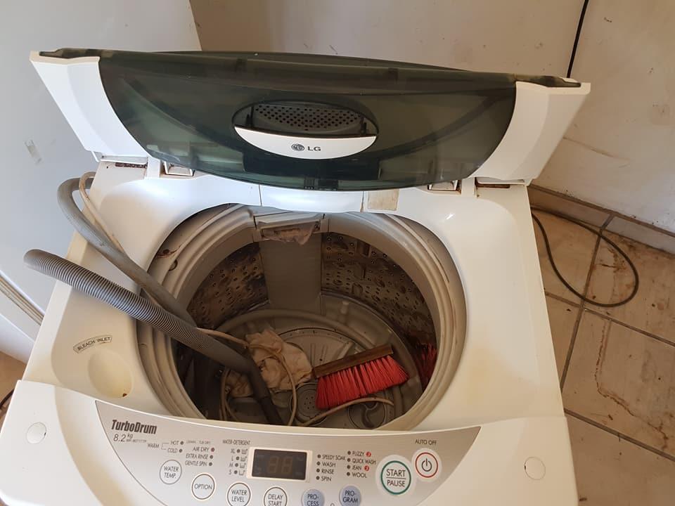 Lg 8.2 kg turbodrum toploader washing mashien