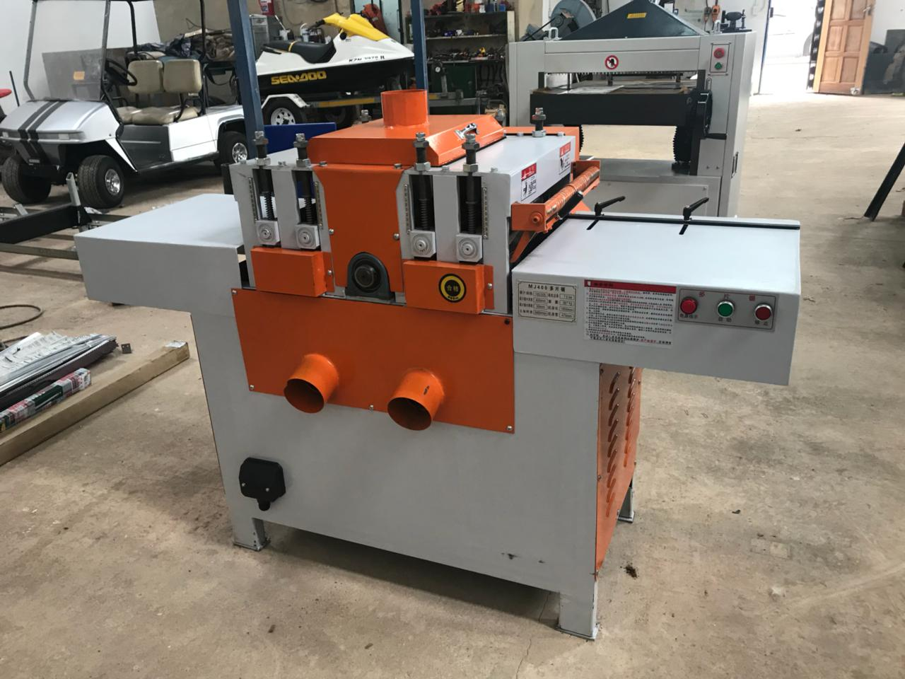 Board Edger, ROOSMAC, MJ400, 7.5 kW, 400 x 50 mm