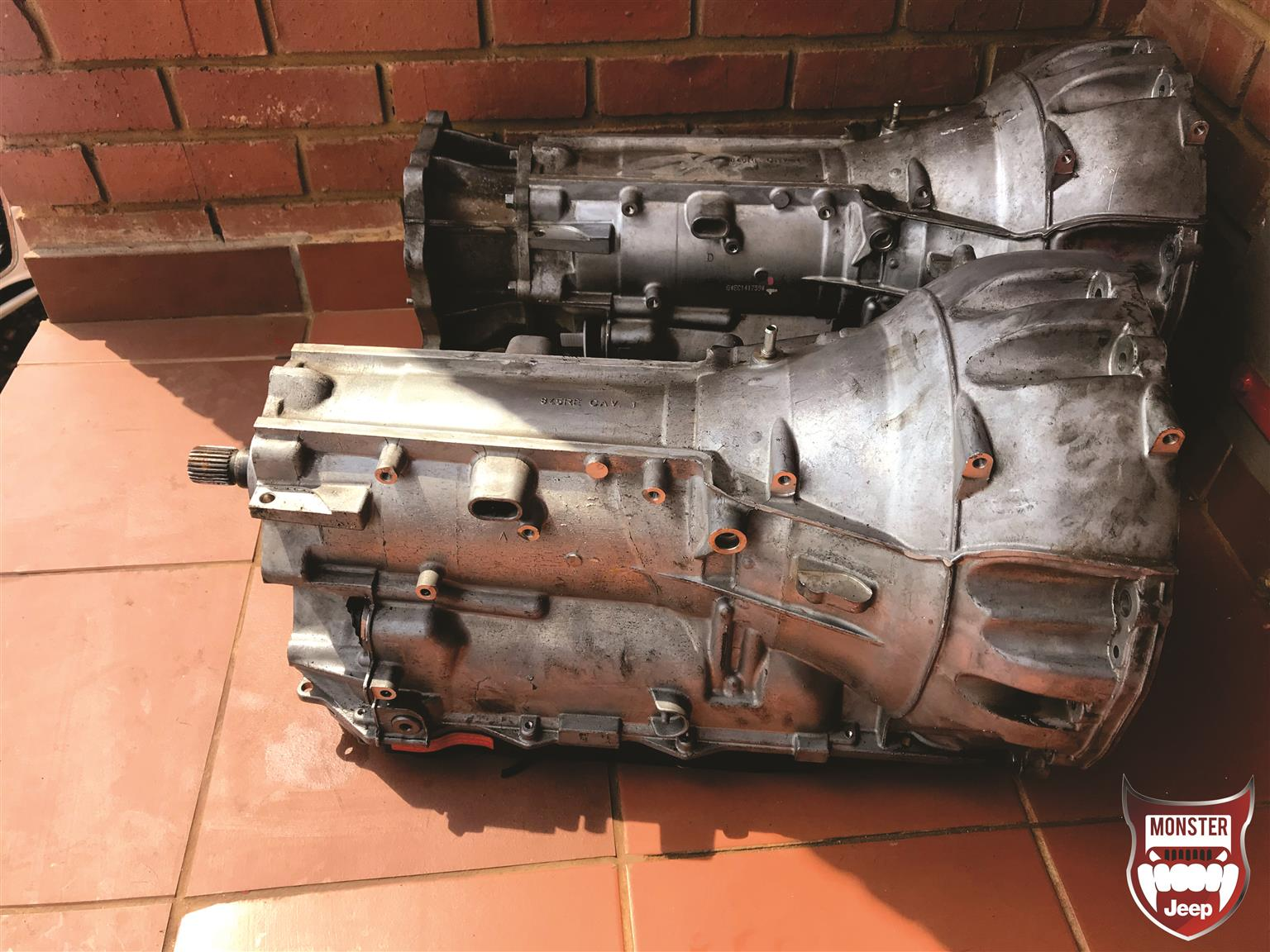 2014 - 2018 Jeep Grand Cherokee 3.6 8 speed gearboxes