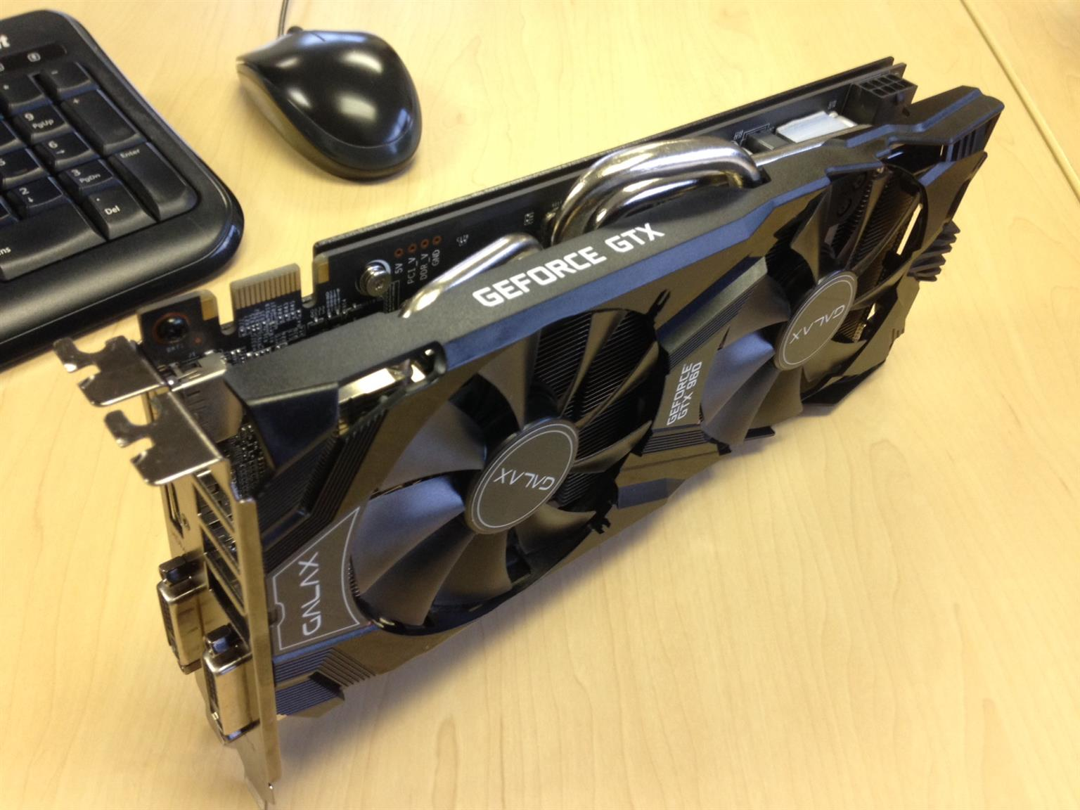 Galax Geforce GTX960 EXOC 2GB