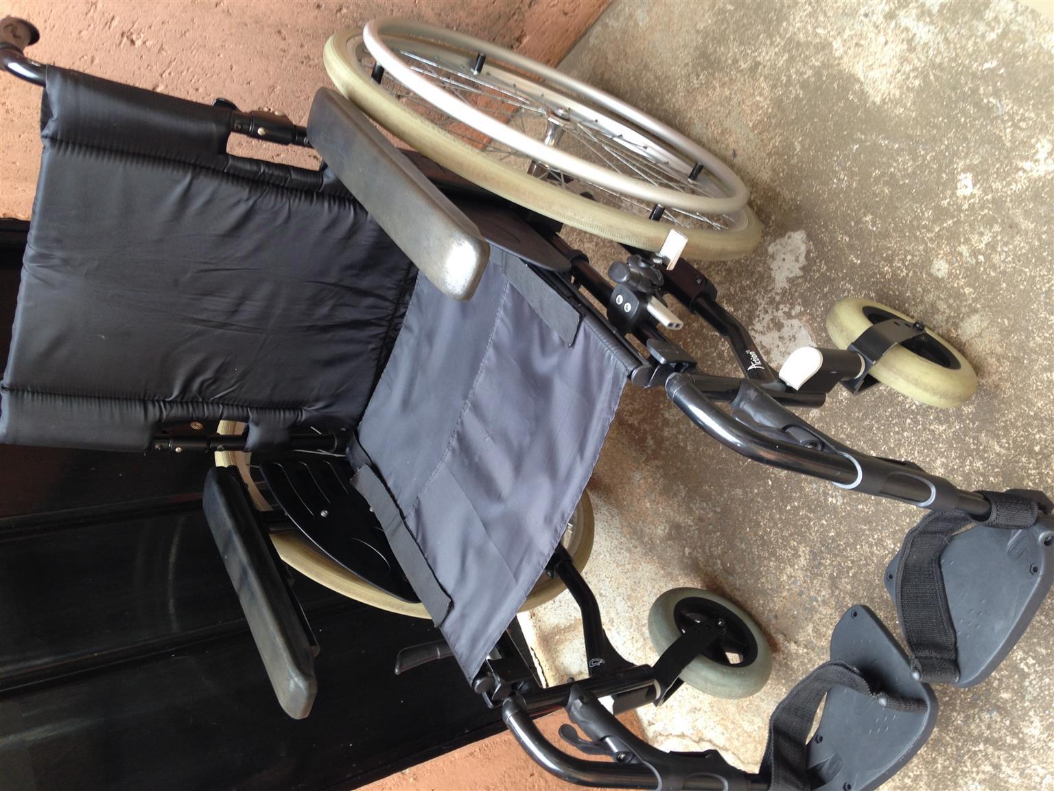 Invacare Action2 wheelchair