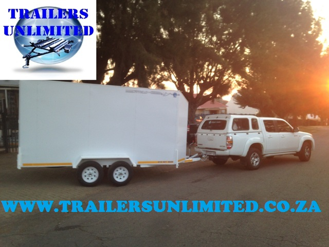 Enclosed Trailer 5000 x 2000 x 2100