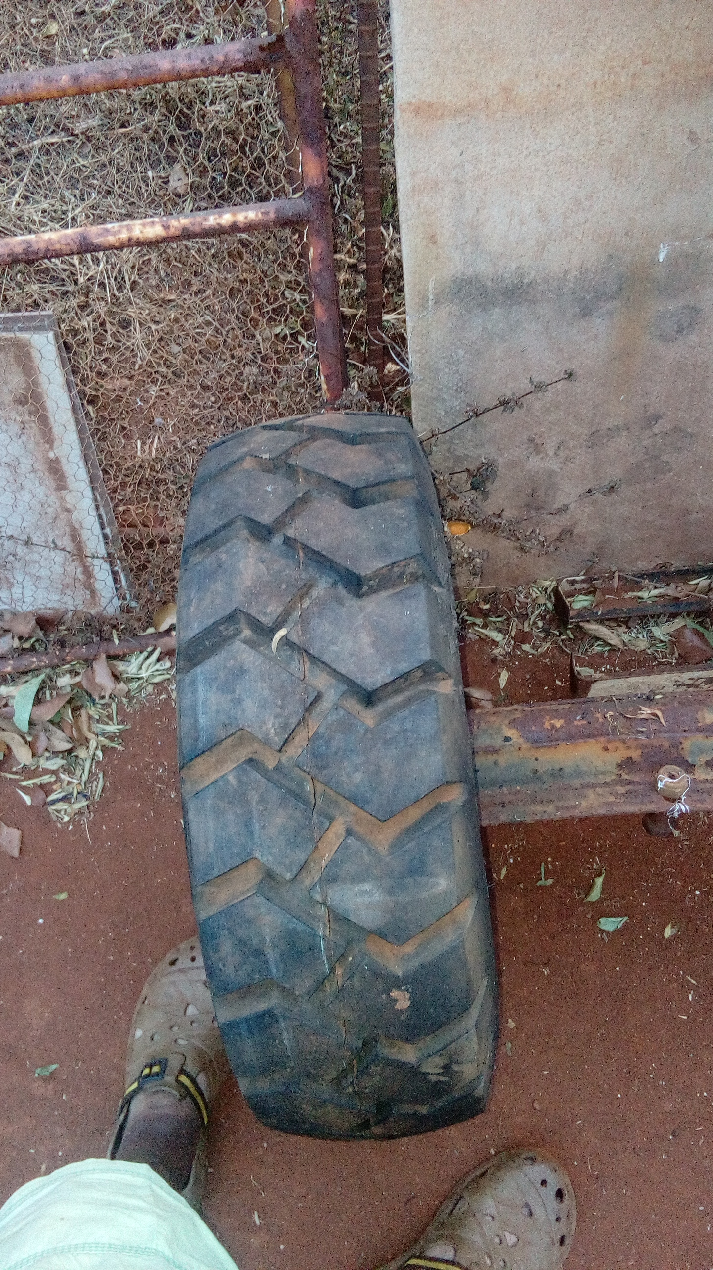 Axle with 2 wheels for sale