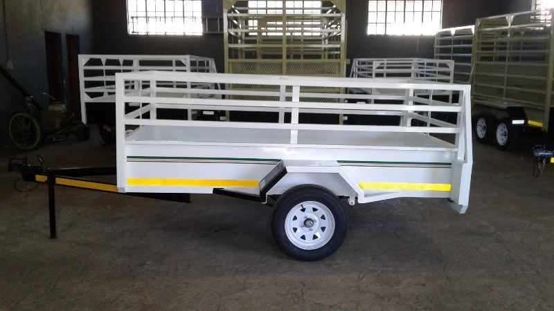PLATE SIZE TRAILER FOR SALE, BRAND NEW, PAPERS INCL