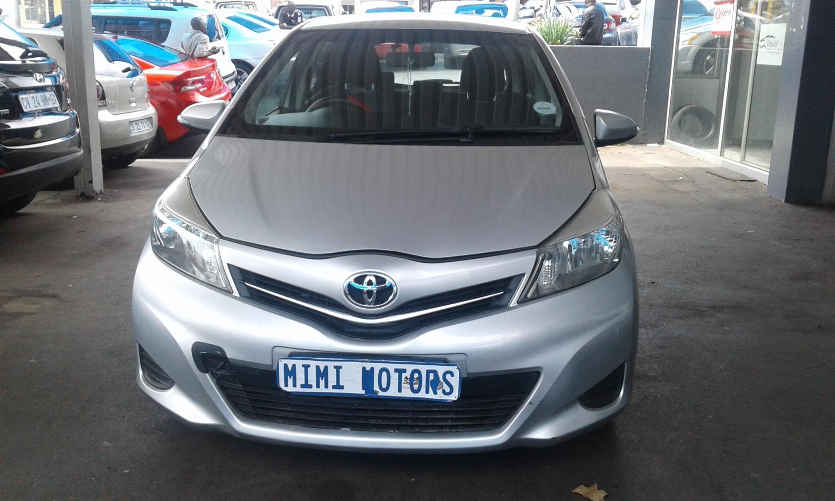 2014 Toyota Yaris 1.0