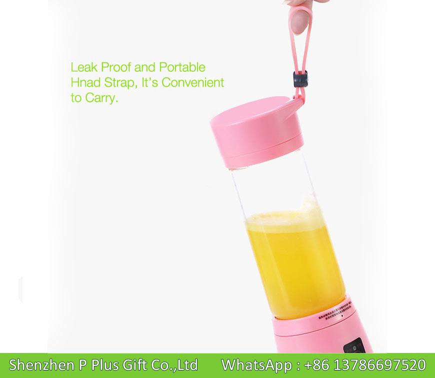 High Borosilicate Glass Material Wholesale Electric Mini Blender Joyshaker Bottle 450ML