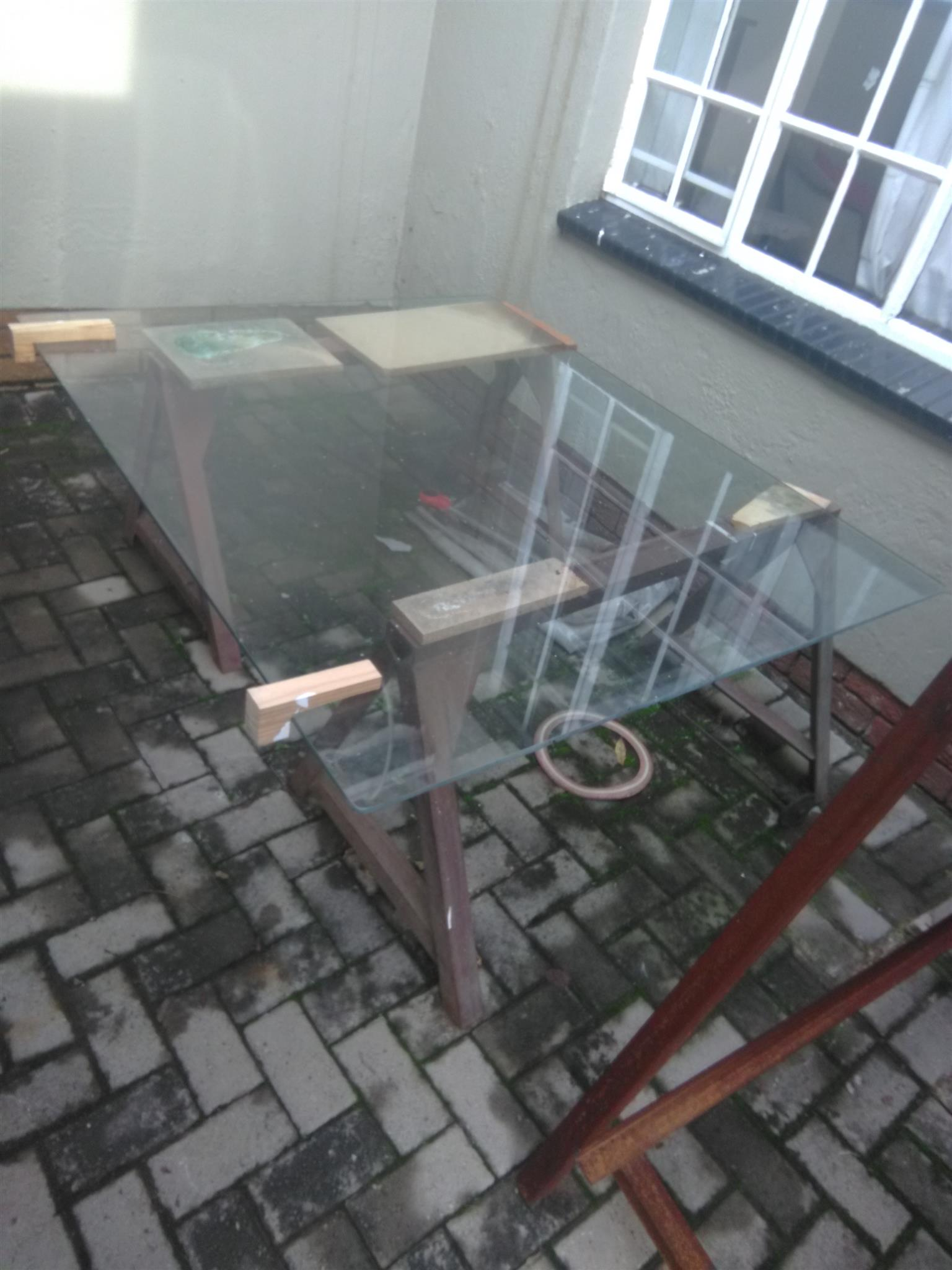 table top glass