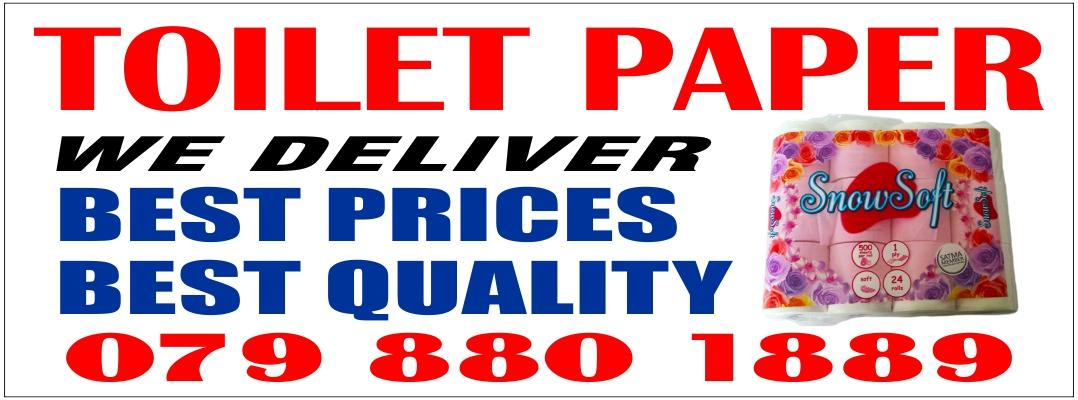 TOILETPAPER , We Deliver for Free ....