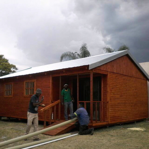 We built Log house and wendy house at affordable price