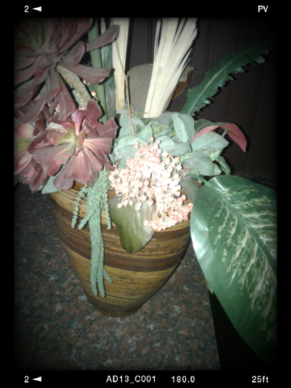 Synthetic Office/Home Flower Arrangement