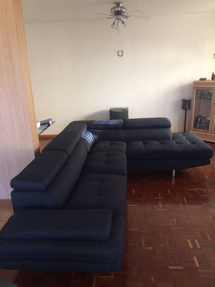Modern Milano Corner Lounge Suite