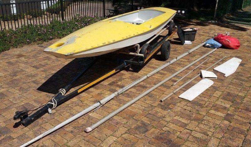 Fireball sailboat for sale - URGENT sale