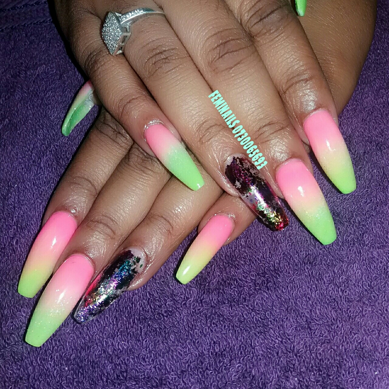 Acrylic and gel nails