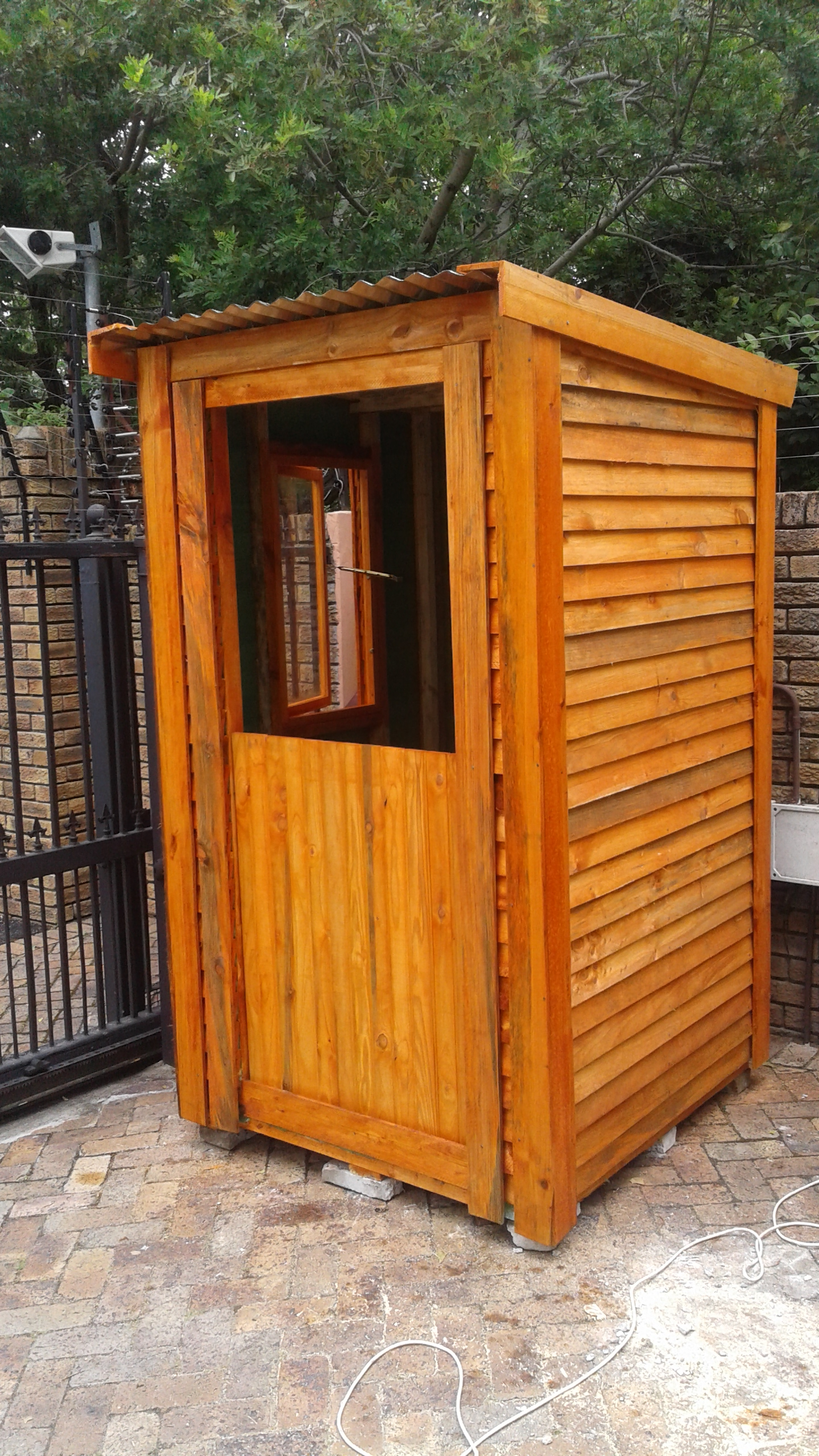 Security huts for sale