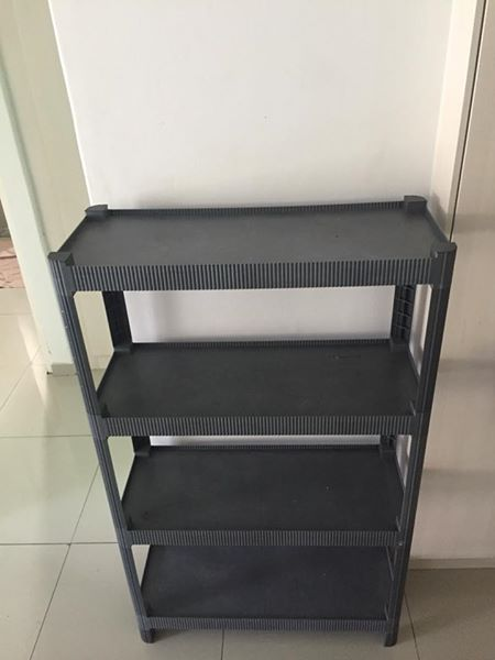 Collapsible shelve