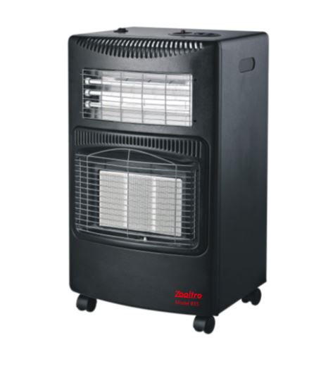 ZOOTRO GAS AND ELECTRIC HEATER - BRAND NEW