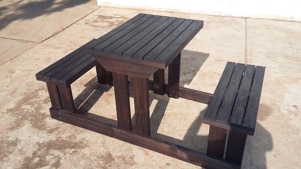 Picnic tables 2 , 4 , 6  and 8 seaters available to order