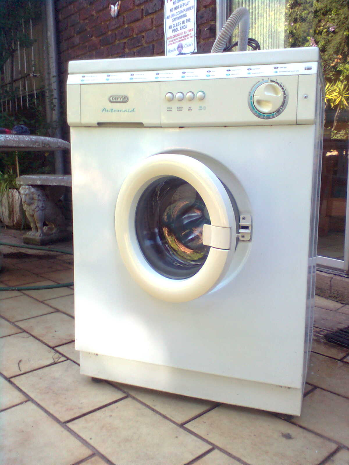 All makes and models of washing machines repaired
