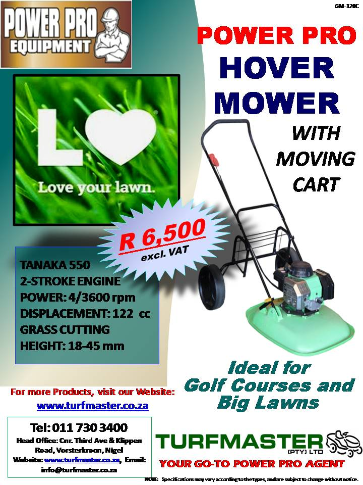 POWER PRO HOVER LAWNMOWER
