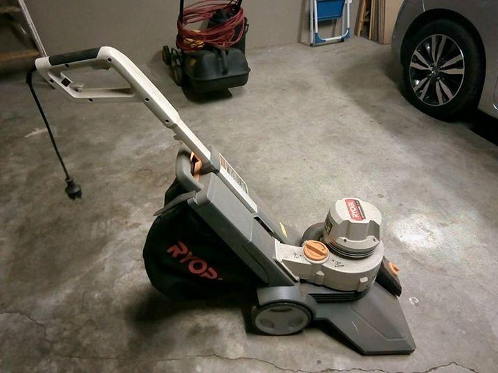 Ryobi blower en vacuum
