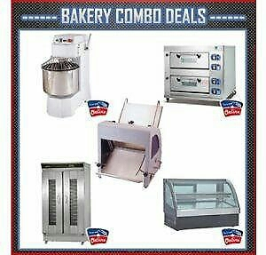 INDUSTRIAL BAKERY EQUIPMENT FOR SALE - BAKING OVENS, INDUSTRIAL MIXERS, PROOVERS, FOOD WARMERS ETC