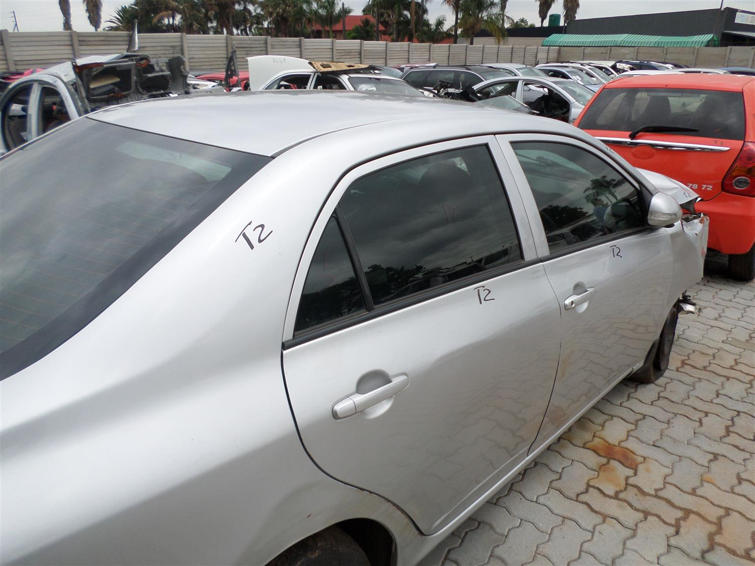Toyota Corolla 1.3 Professional 2012 now for stripping of all parts.