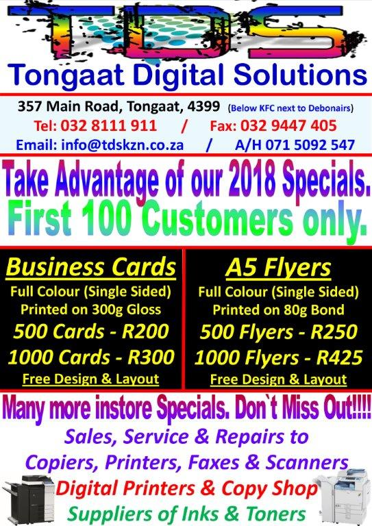 All ads in south africa junk mail 2018 specials business cards flyers a5 reheart Images