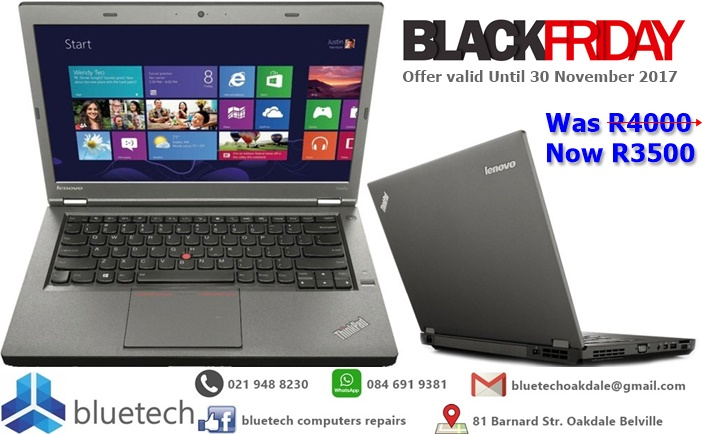 Lenovo T440p 14 Inch Intel i5 4GB 500GB Business ThinkPad Laptop