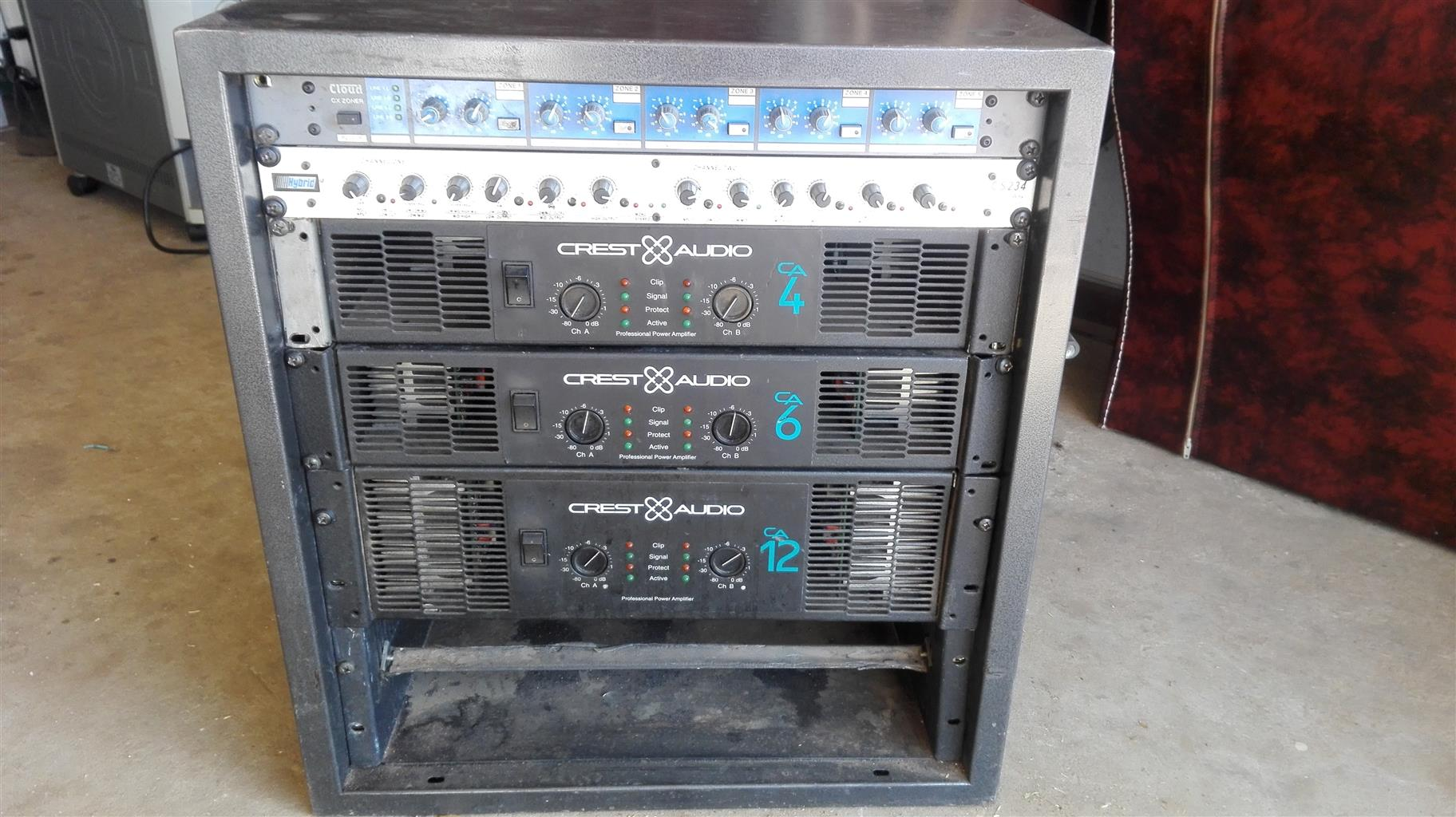 Amp rack for sale