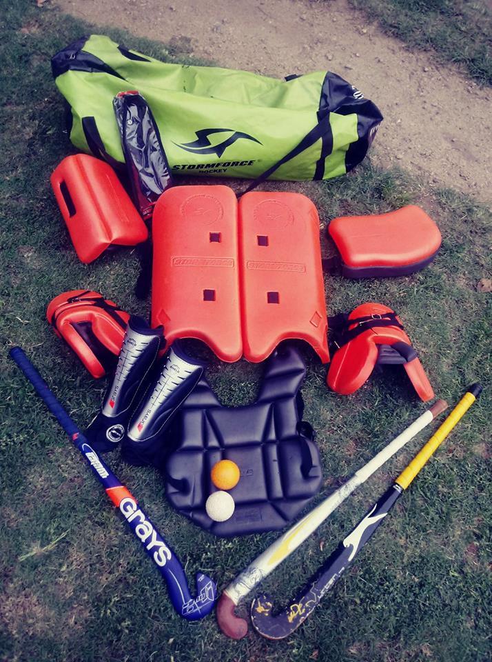 Stormforce hockey goaly kit