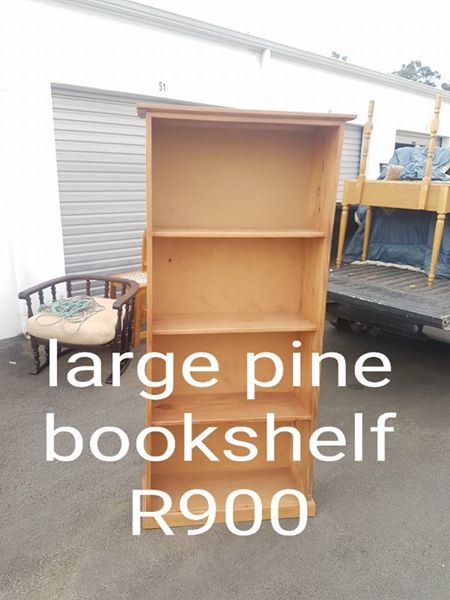 Large Pine Book Shelf For Sale